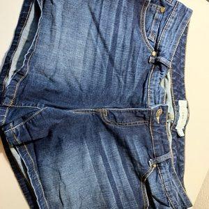 Torrid 16 jean shorts
